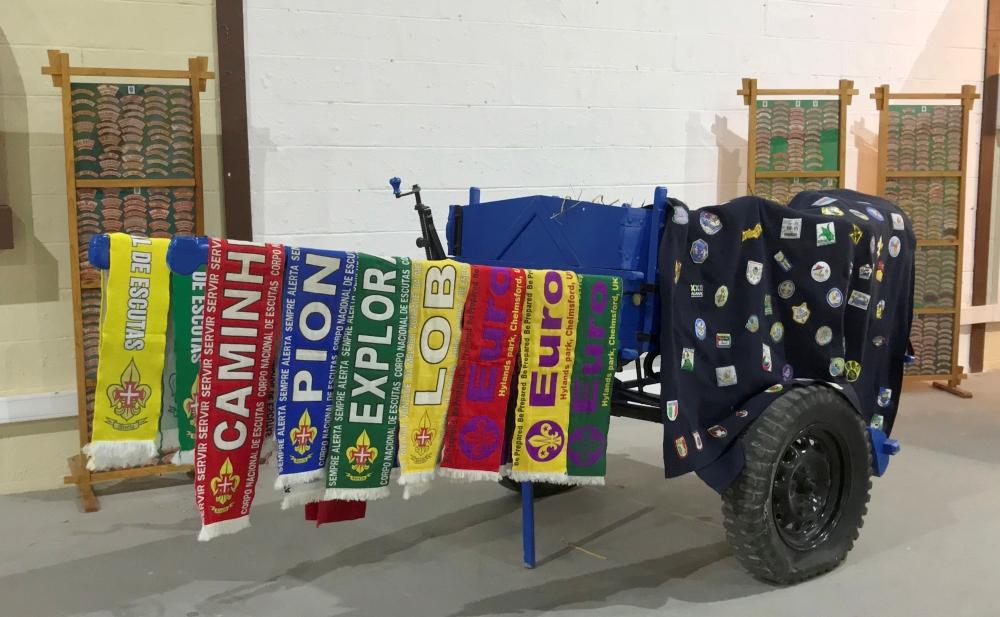 A mostra contou com vários contributos dos coleccionadores.