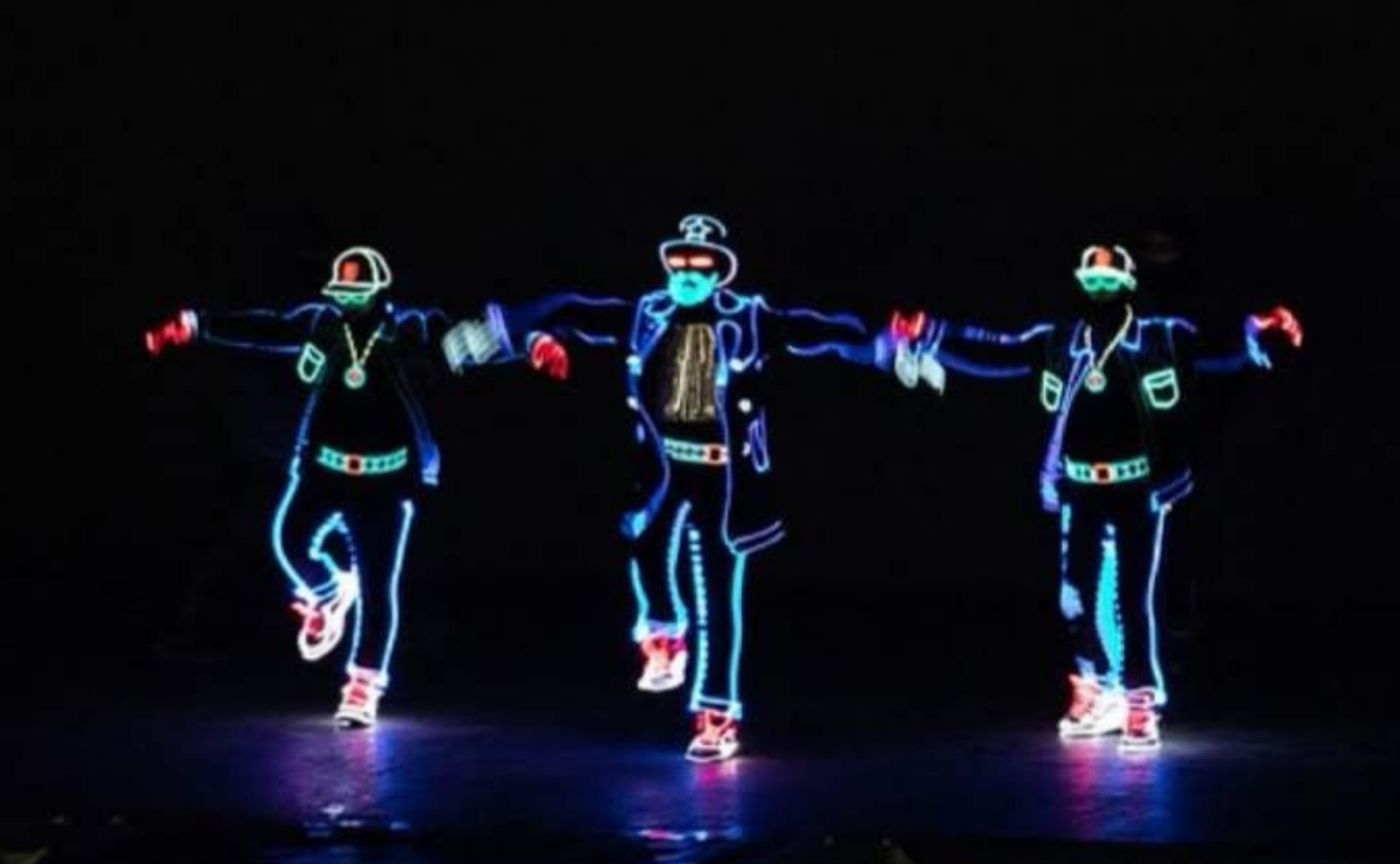 O grupo Light Balance encerrou o leque de performances da noite