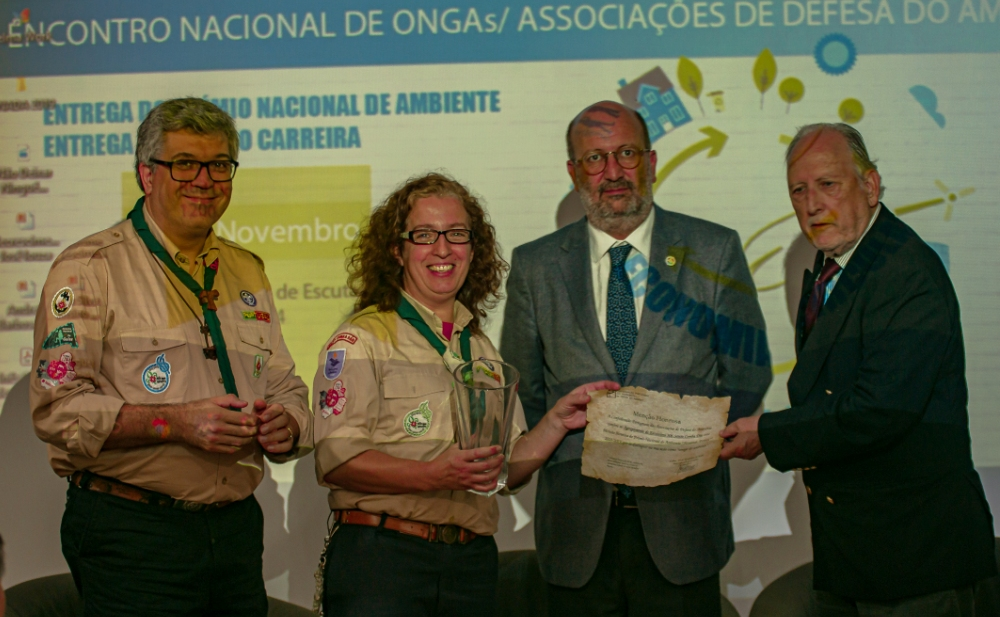Agr.Santa Comba Dão recebe prémio da CPADA pelas mãos do Ministro do Ambiente.