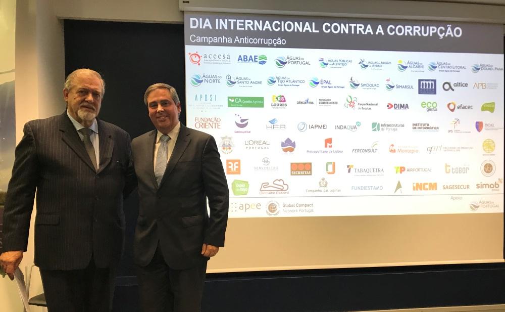 José Rodrigues, Secretário Nacional do Ambiente e Sustentabilidade discursou no evento.