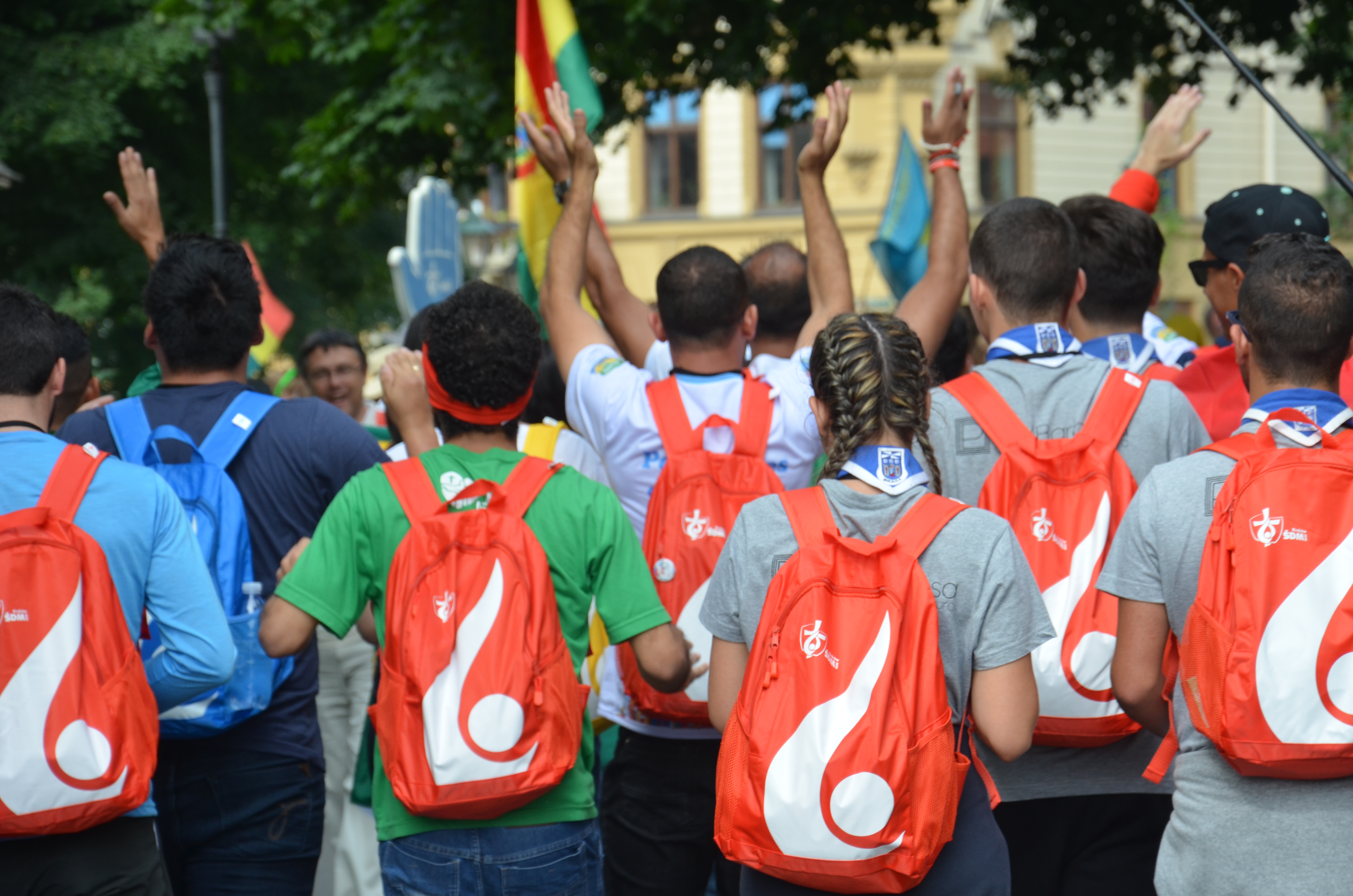 Escuteiros polacos montam campo para apoiar as JMJ