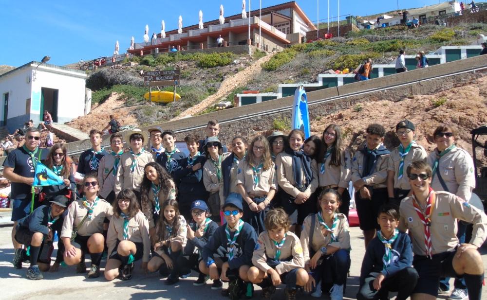Agrupamento de Castelões foram conhecer a Galheta, a Ave do Ano.