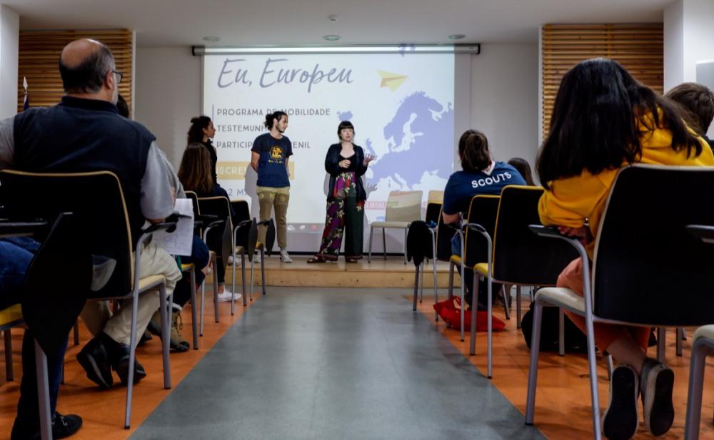 Eu, Europeu promovido pelo CNE.