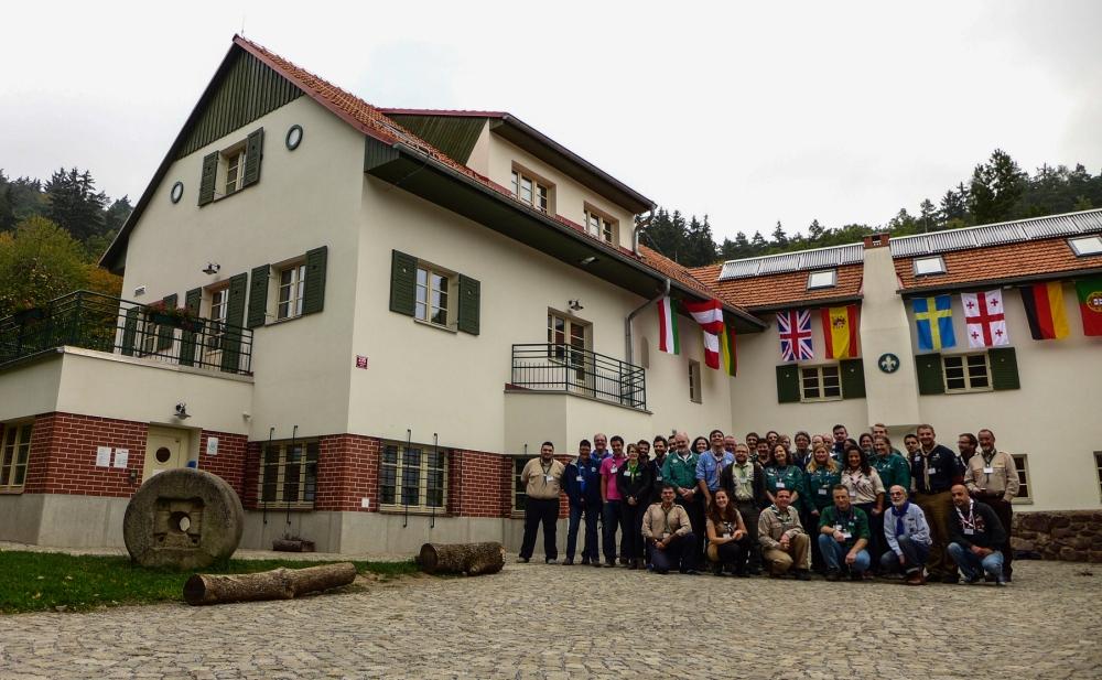 Representantes dos Centros Escutistas.