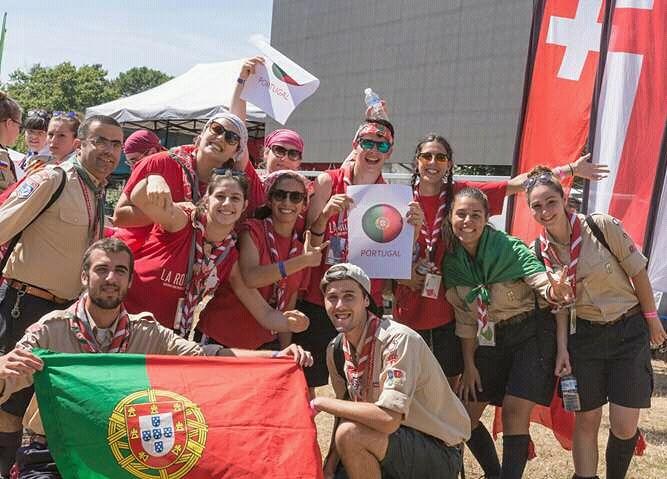 Portugueses já estão em França para o Roverway 2016