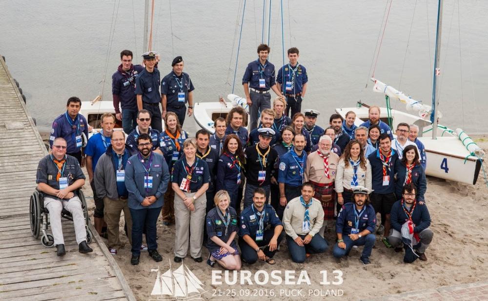 Grupo de participantes da edição 13º do Eurosea.