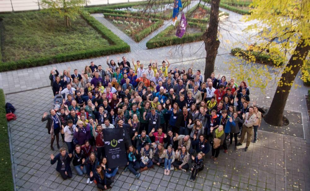 Participantes na The Academy 2017.