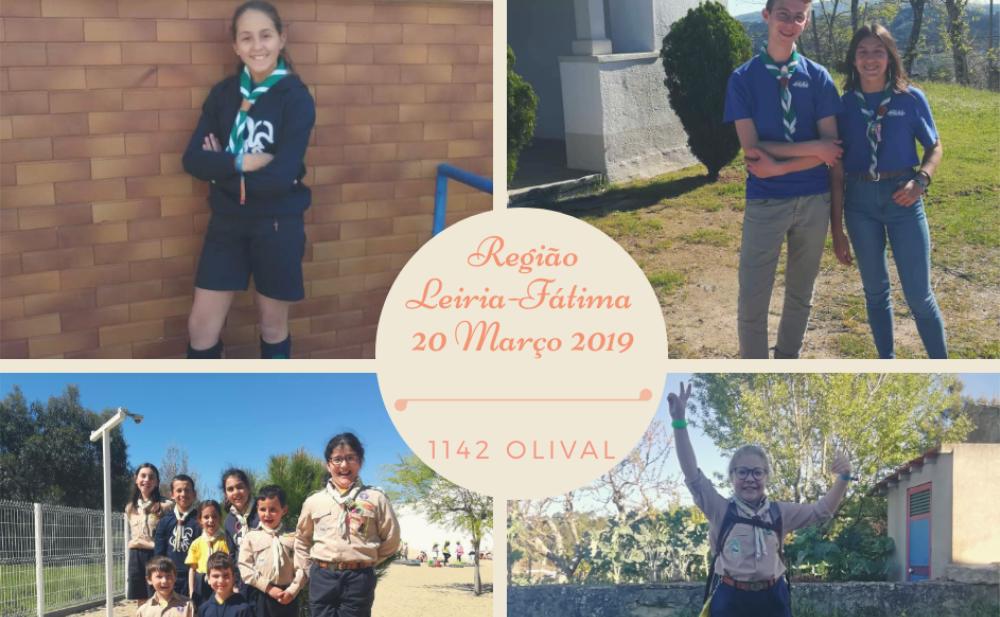 Agrupamentos da região de Leiria-Fátima comemoram os 94 anos da sua região.