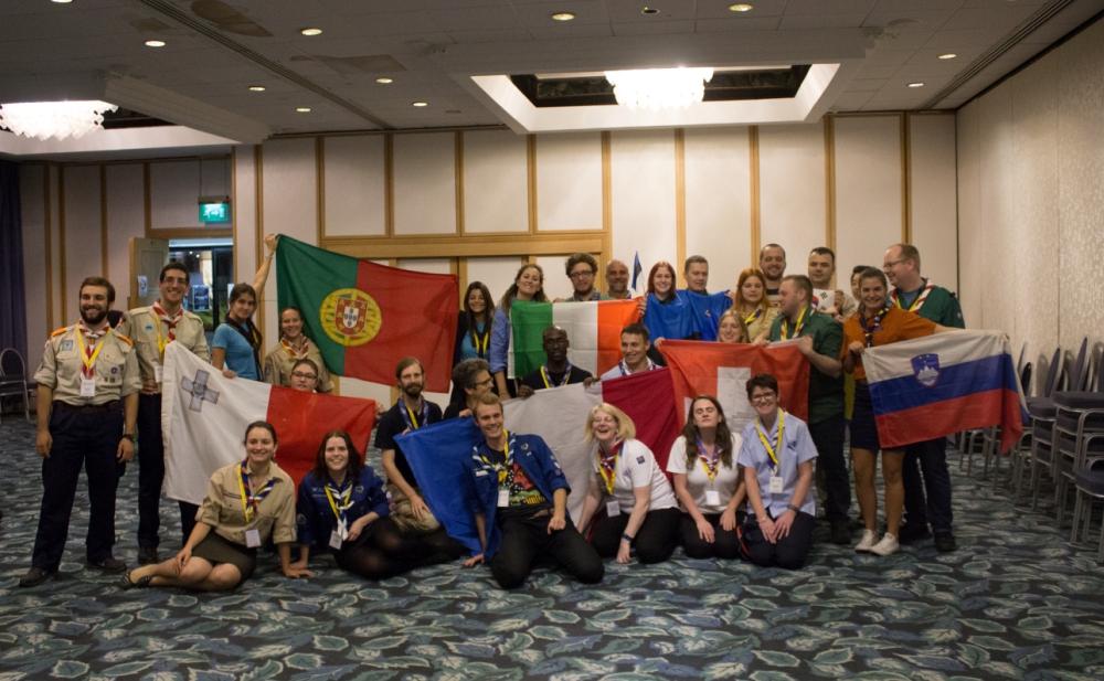 Participantes da Scout Academy 2016.